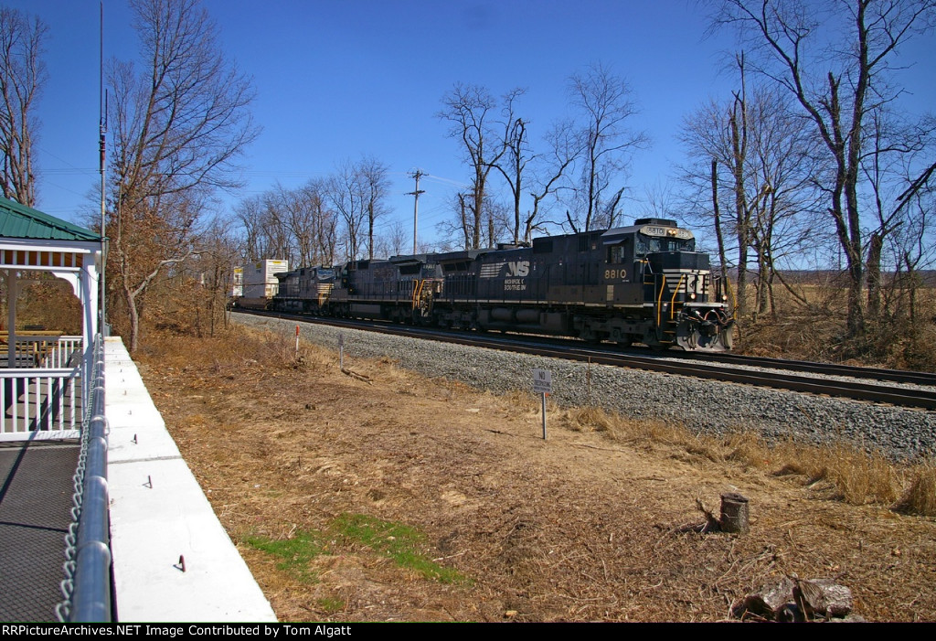 West Bound Norfolk Southern  Stack Train