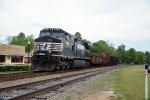small train sitting on main in Johnston