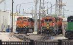 BNSF 6096, BNSF 564, and BNSF 532