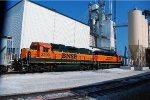 BNSF 2299 and 2606 in Springfield MO