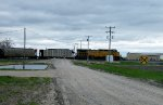 UP 6485 crosses Imperial Rd in Kearney NE