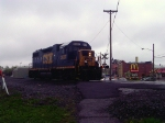 CSXT 2637 all by itself in New London.