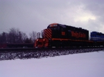 WE 6311 in the snow