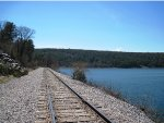 EX CNW line @ Devils Lake State Park