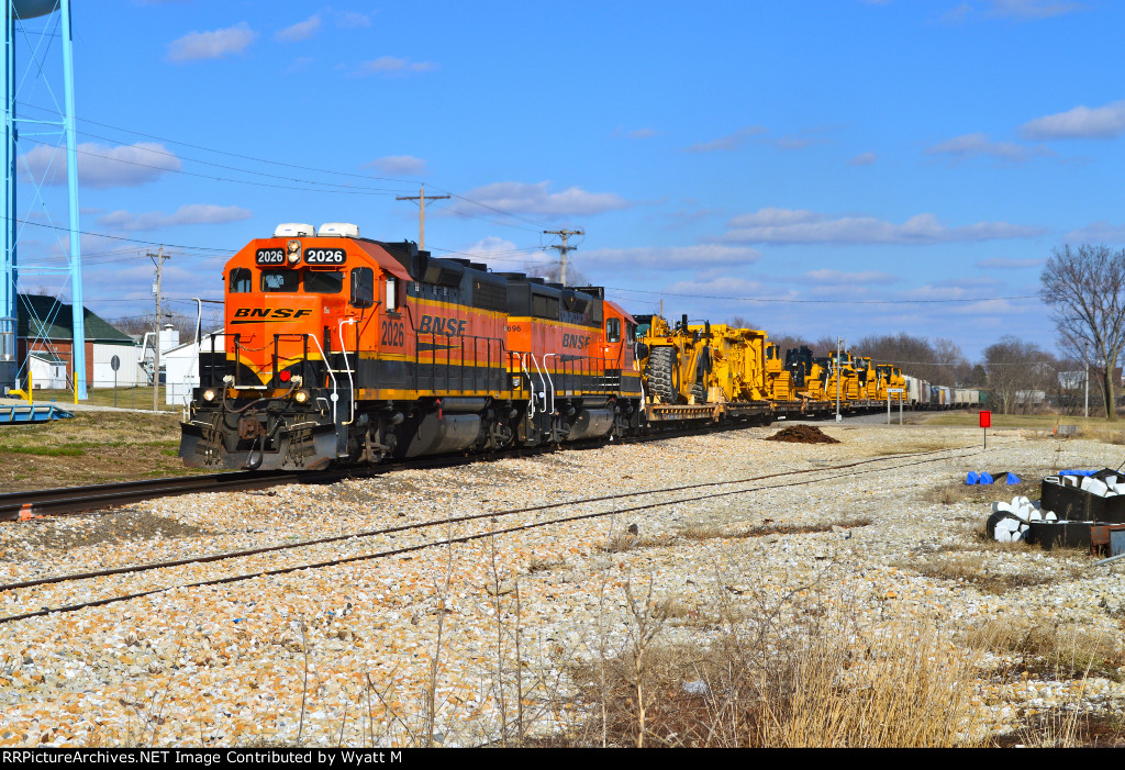 BNSF 2026 and 2696