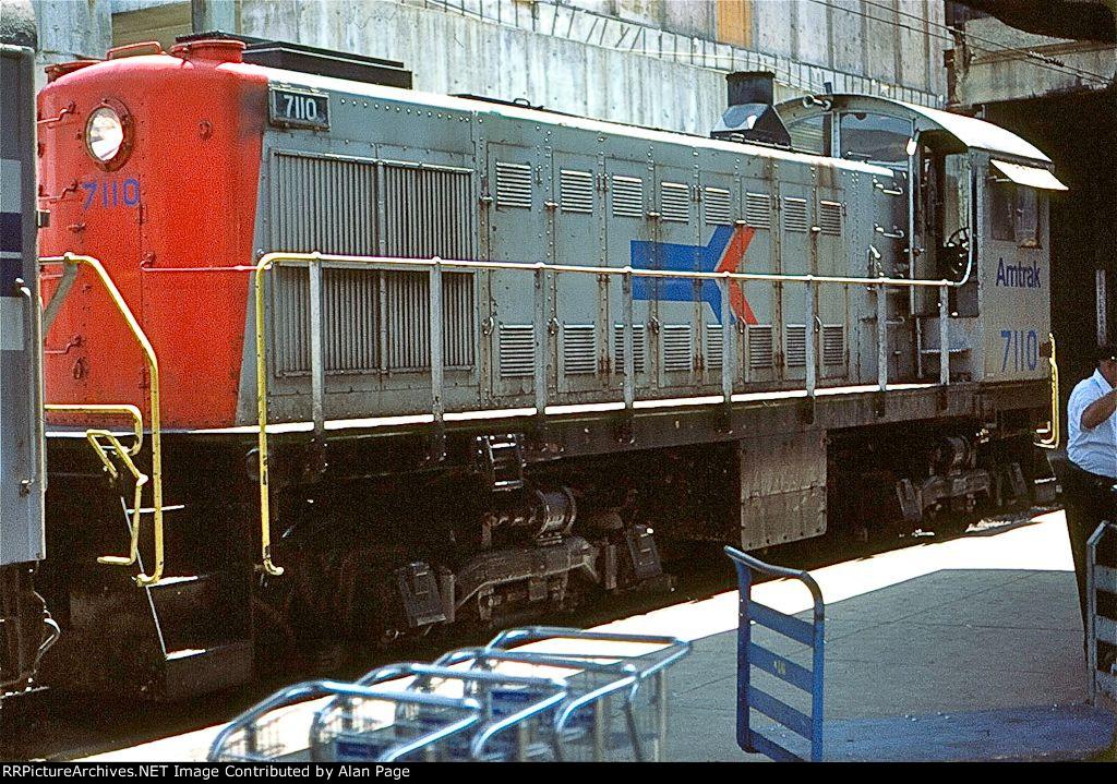 Amtrak S-2 7110