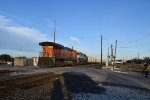 DPU's of SB BNSF coal train