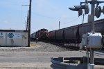 BNSF 4577 awaits clearance