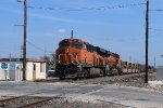 BNSF 7107 NB baretable