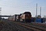 BNSF 8150 SB intermodal