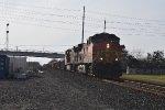 BNSF 5183 EB rock train