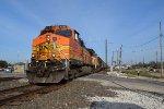 BNSF 5220 NB grain train