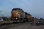 UP 6758 WB rock train