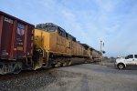 DPU's of WB UP rock train