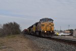 UP 7335 WB intermodal