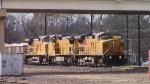 UP 9754 EB rock train