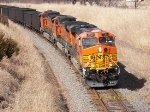Southbound Loaded Coal Train