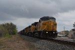 UP 9669 WB rock train