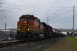 BNSF 4025 EB oil train