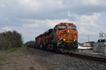 BNSF 7113 WB baretable