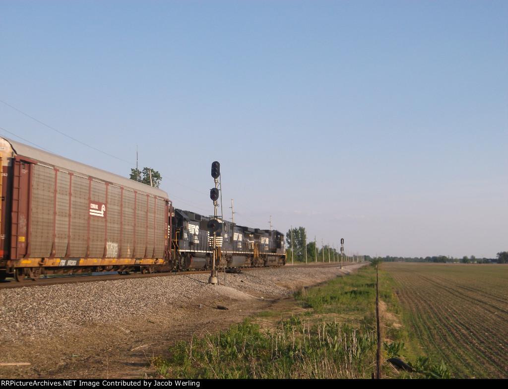 NS 9763, NS 9966, and NS 7134