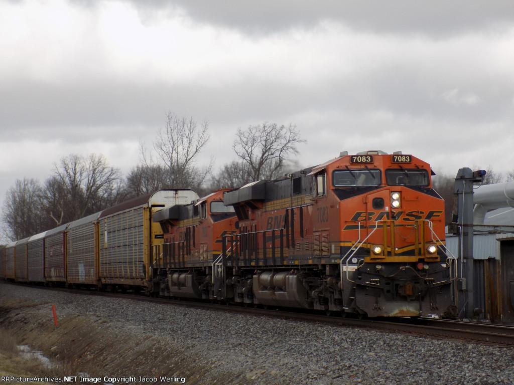 BNSF 7083