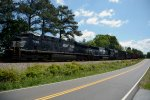 Z368-26 on CSX heading to NS V line in  Newberry SC
