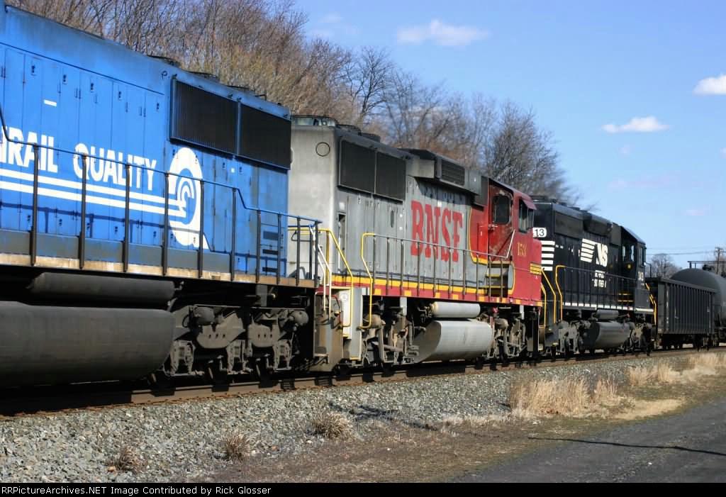 65R Ethanol Train With BNSF GP60M #153