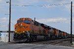 BNSF 7954 NB coal train