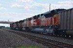 BNSF 7954 Going Away shot
