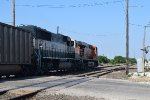 BNSF 6121 SB coal train