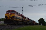 EB KCS mixed freight
