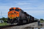 Repainted pre-production GEVO leads WB oil train