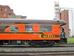 """150807031 SLRG 1 (PPCX 800045) """"Caritas"""" on Amtrak #8"""