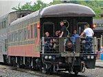 """150807032 SLRG 1 (PPCX 800045) """"Caritas"""" on Amtrak #8"""