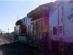 New ET44C4 BNSF 3926 leads Amtrak #8