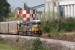 CSX C40-8W 7367