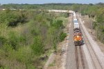 BNSF 7092 drags another stack train down the BNSF Transcon.