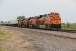 BNSF 7991 Heads up Ex Santa Fe train 199-2