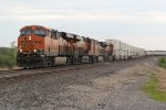 BNSF 6732 Drags a stack down the Transcon.