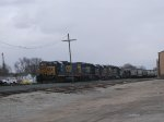 CSX 2016, 2341, 6411, 2257, and 6439