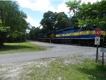 "CSX 109 and DME 6367 ""City of New Ulm"" in Bryceville, Nassau County, FLA"