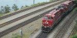 Coal Train Into North Vancouver