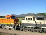 BNSF 5745 and BNSF 9830