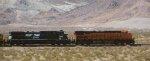 BNSF 6627 - NS 8868