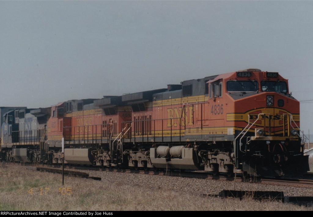 BNSF 4836 East