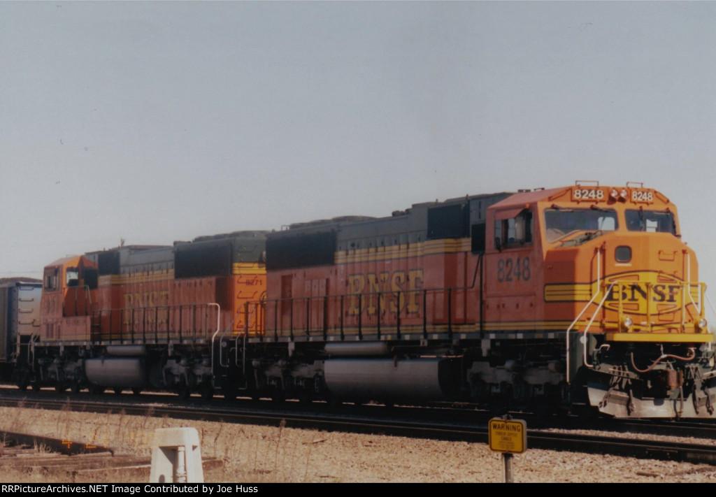 BNSF 8248 East