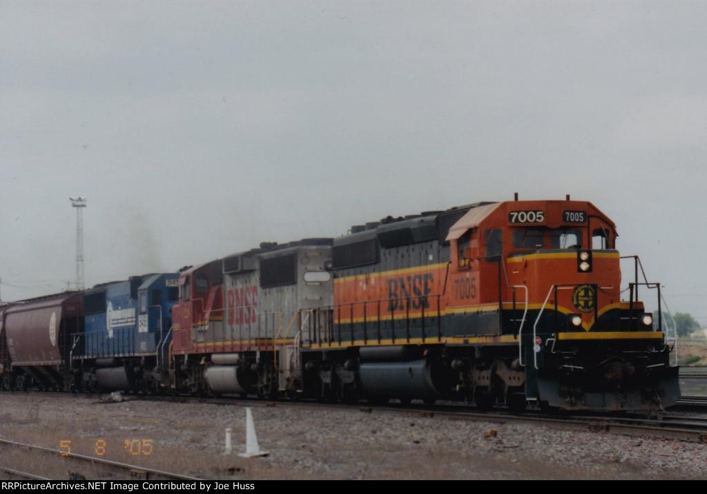 BNSF 7005 East