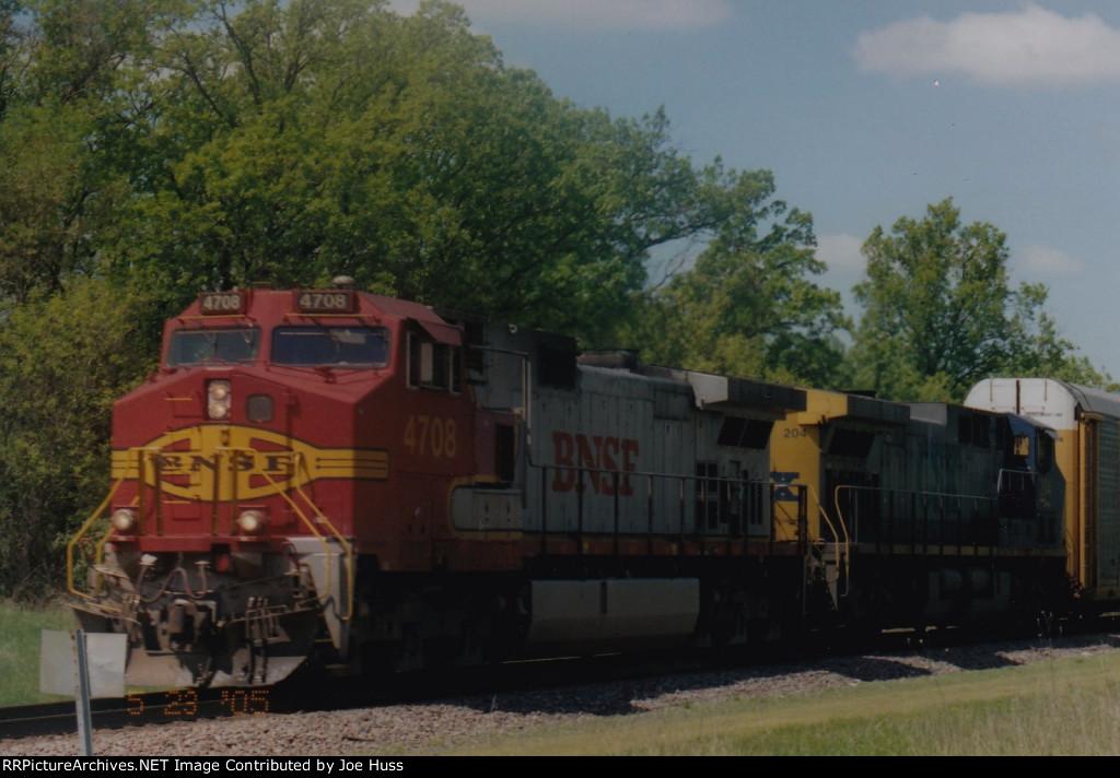 BNSF 4708 East