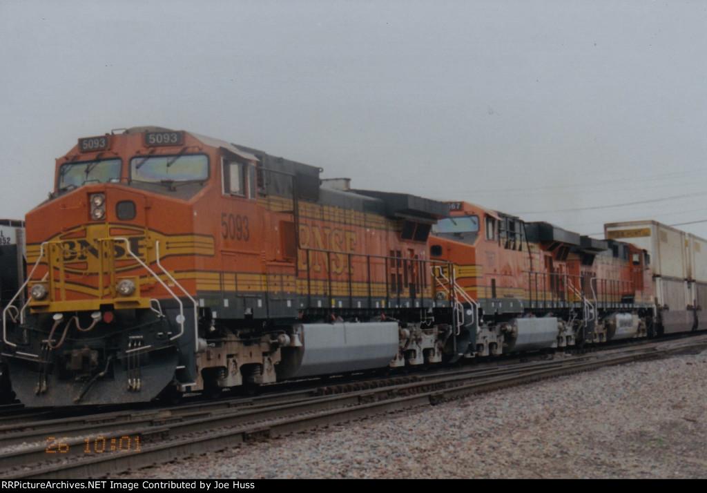 BNSF 5093 East